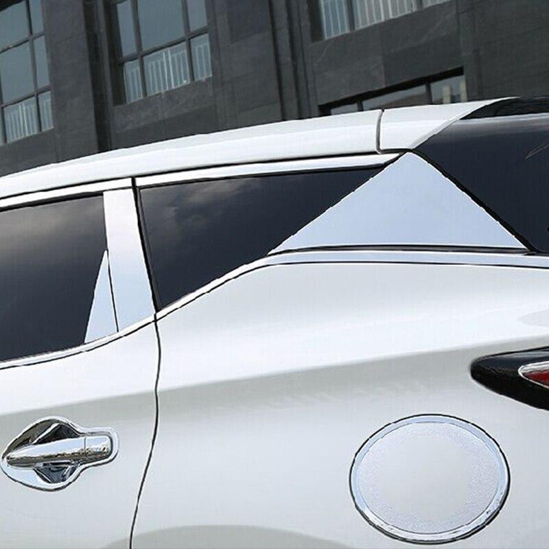 New Door Mirror Signal Light Chrome Trim For Nissan Murano 2015 2016 2017 2018