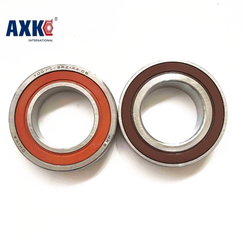 1 Pair AXK 7003 7003C 2RZ P4 DBA 17x35x10 17x35x20 Sealed Angular Contact Bearings Speed Spindle Bearings CNC ABEC-7 original 7003 ac p5 angular contact ball bearings 17 35 10