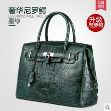 gete Gete new Thai crocodile skin bag handbag, leather fashion luxury high-capacity package Lady