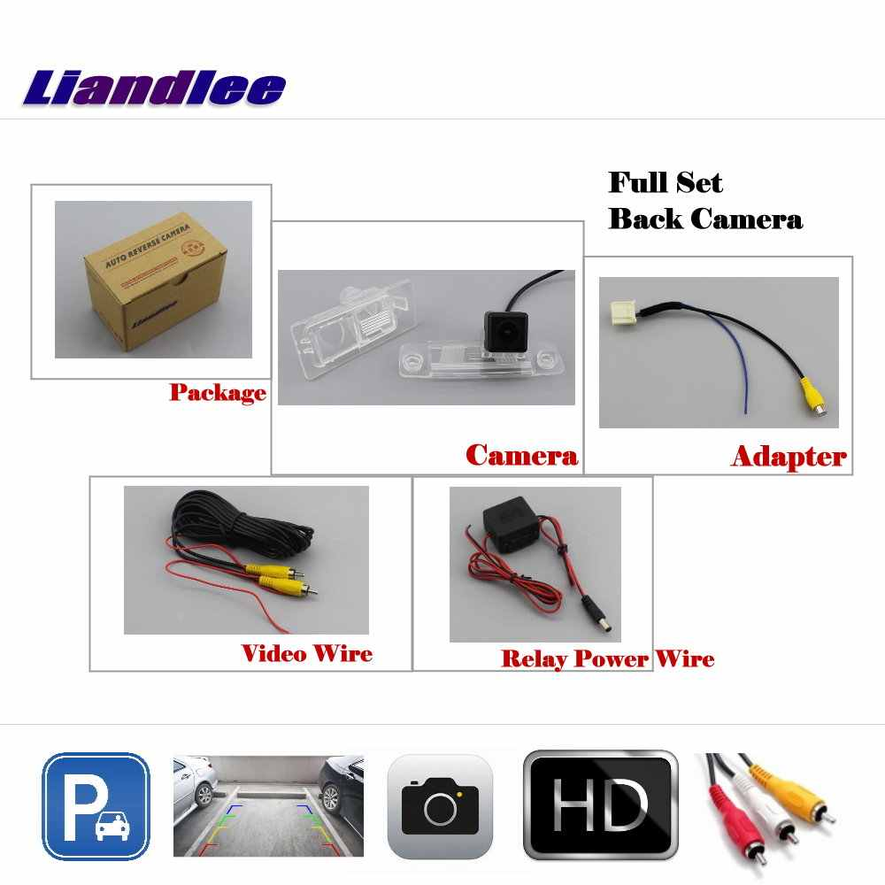 Liandlee Otomatik Arka Kamera Hyundai Elantra AD Avante 2016-2018/HD CCD Arka park kamerası ile Çalışmak Araba fabrika Ekran