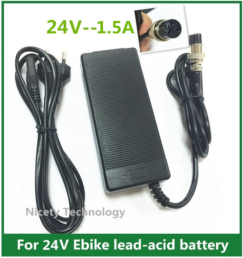 Newding 24V Scooter Battery Charger Cord for Razor E100 E200 E200S E175 E300 E300S E125 E150 E500 PR200 E225S E325S MX350 MX400 Sports Mod Dirt Quad 3-Prong Adapter Power Supply Cord 6.6FT