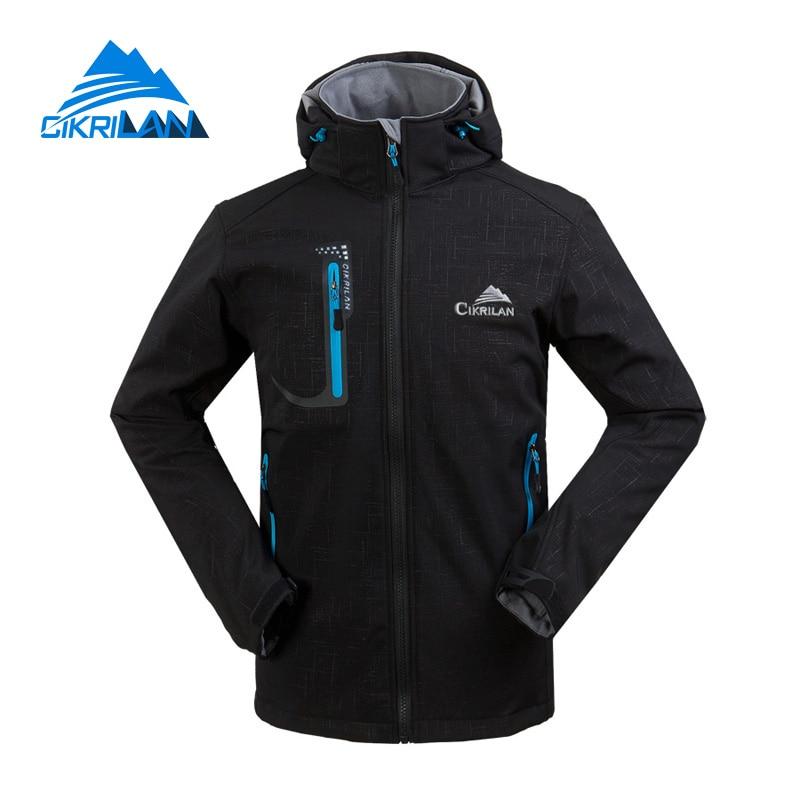 Nová pánská voděodolná větrovka Turistika Camping Coat Outdoor Sport Softshell Jacket Muži Trekking Cyklistika Jaqueta Masculina