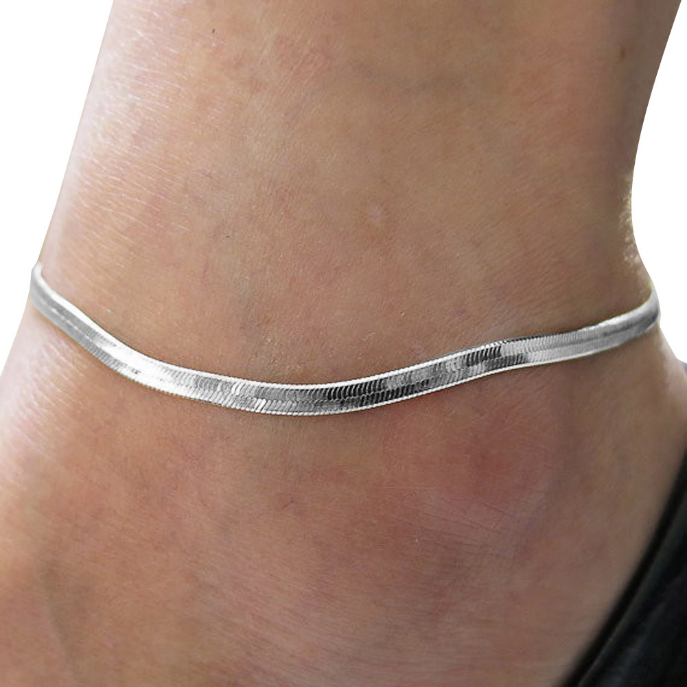 anklet charms plated bracelets bracelet beach pin stylish barefoot ankle adjustable vine silver jewelry