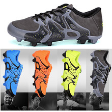 2016 new hot Kids' Sneakers Children 's soccer shoes students spike boys girls youth sports shoes Wear tough lightweight