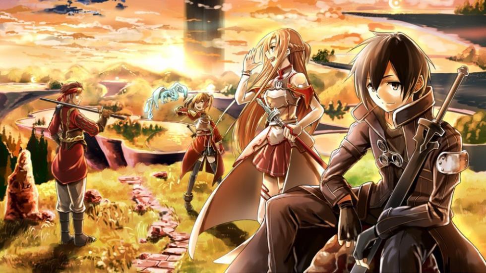 Schwert Art Online SAO ALO Japan Anime Seidentuch Poster 43 X 24 X13 033 In