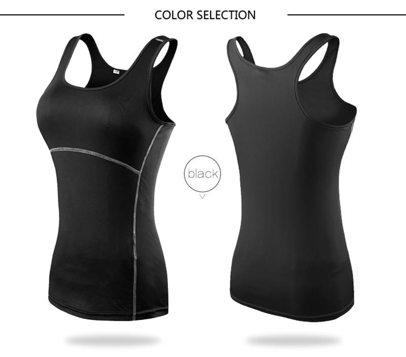 Women's Yoga Tops Sexy Gym Sportswear 14