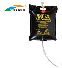 Ryder 20L Shower Bag Outdoor sports Camping Hiking Solar Heated Camp Portable Shower Water Bag