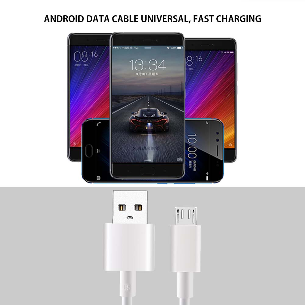 Image 3 - Original xiaomi micro usb cable 2A fast charging sync data cable for xiao mi 1s/2s/3s/4s Redmi 1s/2s/3s/3X/4X/Note/2/3/4/4X/5-in Mobile Phone Cables from Cellphones & Telecommunications