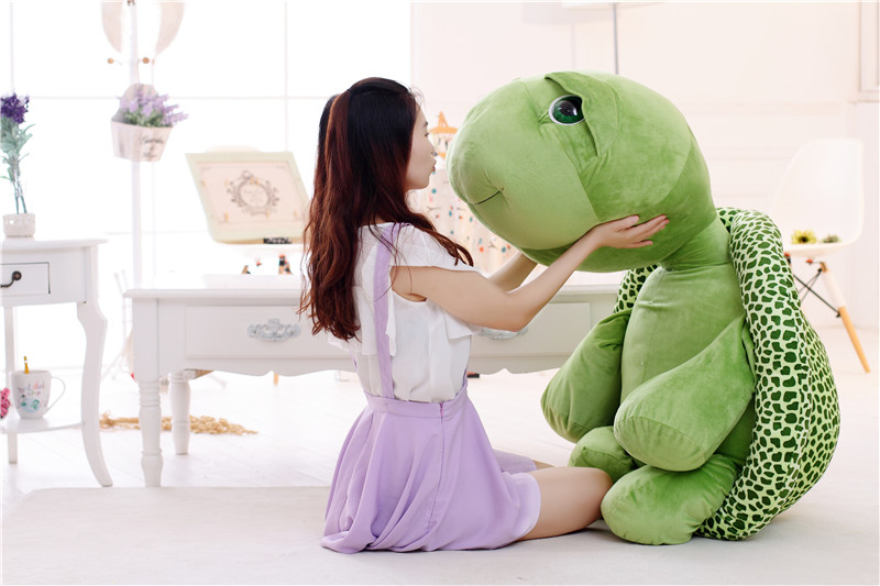 large 120cm cartoon tortoise plush toy green turtle doll soft hug toy pillow .Christmas gift 434 цена