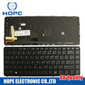 Nuevo Teclado Del Ordenador Portátil Para HP EliteBook 840 G1 850 HP840 G1 G2 ZBook 14 EE.UU. Teclado Con Luz de Fondo