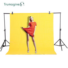1.6X2M/5.2X6.5ft Yellow Screen Photo Background Photography Backdrops Backgrounds Shooting Studio Video Non woven Fabric life magic box photography background photography fabric video background for studio