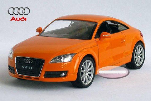nouveau 1:24 audi tt alliage modèle de voiture miniature toy