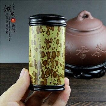 Acura MeiFeiZhu merlot bamboo tea barrel aloes cone incense cartridges, ebony, gold silk incense wholesale