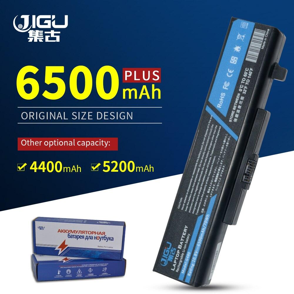 JIGU 6 Cells L11L6Y01 L11S6Y01 Laptop Battery FOR LENOVO Y480 Y480A Y480P Y580 Y580NT G480 G480A G485 G580 G580AM Z380A
