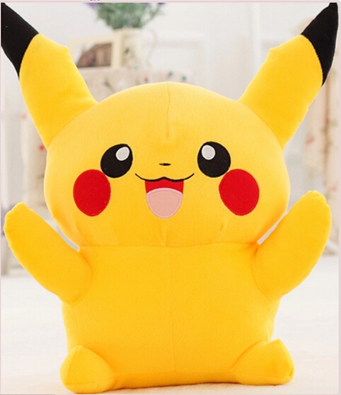 Pokemon plush toys large anime Yellow Pikachu doll birthday gift, Free Shipping 100cm