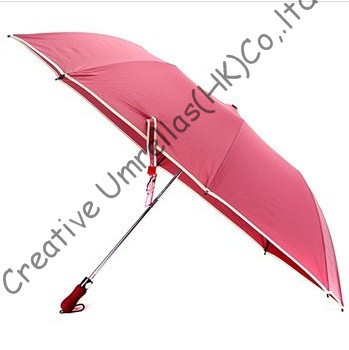 Car Umbrellas,outdoor two fold golf umbrellas.hex-angular 50T steel shaft,auto open,MINNIGOLF,windproof,pocket umbrellas