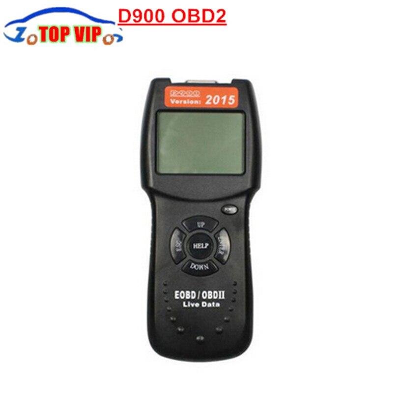 Цена за DHL Бесплатная 10 шт./лот Высокое качество Новые D900 OBD2 EOBD может код ошибки чтения сканер D 900 диагностический с хорошим Качество