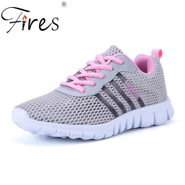 a9f1e3a268a Vuurt Zomer Vrouwen Sneakers Lichtgewicht Sportschoenen Voor Vrouw Outdoor  Breather Loopschoenen Liefhebbers Training Schoenen Zapatillas