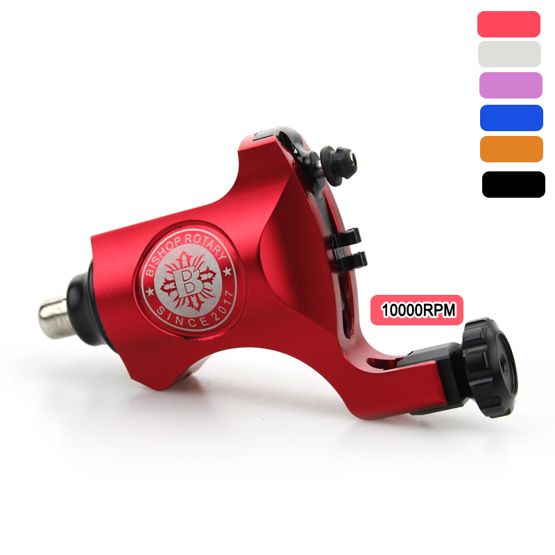 New High Quality Rotary Tattoo Machine Bishop Style for Shader liner RCA Rotary Tattoo Machine For Tattoo Guns Supply 6 Colors new rotary tattoo machine professional stigma amen v6 rotary tattoo machine guns high quality for tattoo supplies red m664 2cn