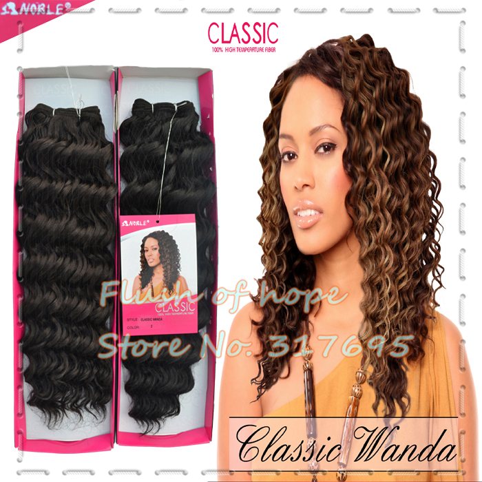 Premium Quality Noble Classic Wanda Synthetic Hair Extensions Deep