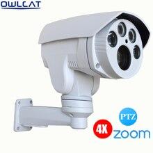 Owlcat hi3516C + SONY IMX322 Auto Zoom 2.8-12mm objectif À Focale Variable PTZ Extérieure HD 1080 P de Sécurité CCTV Caméra ip 4X ir Onvif RTSP