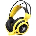 Arcma Computer Gaming Headset Sades Melhor Surround Jogo Fones De Ouvido com Microfone para PC Gamer USB + 3.5mm Estéreo Baixo fones de ouvido