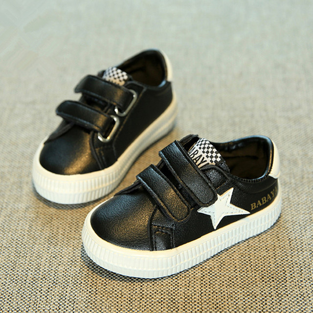 Baby shoes girls Artificial leather 0-3 years old baby casual shoes sport Boys shoes 2017 new spring baby kids shoes leather