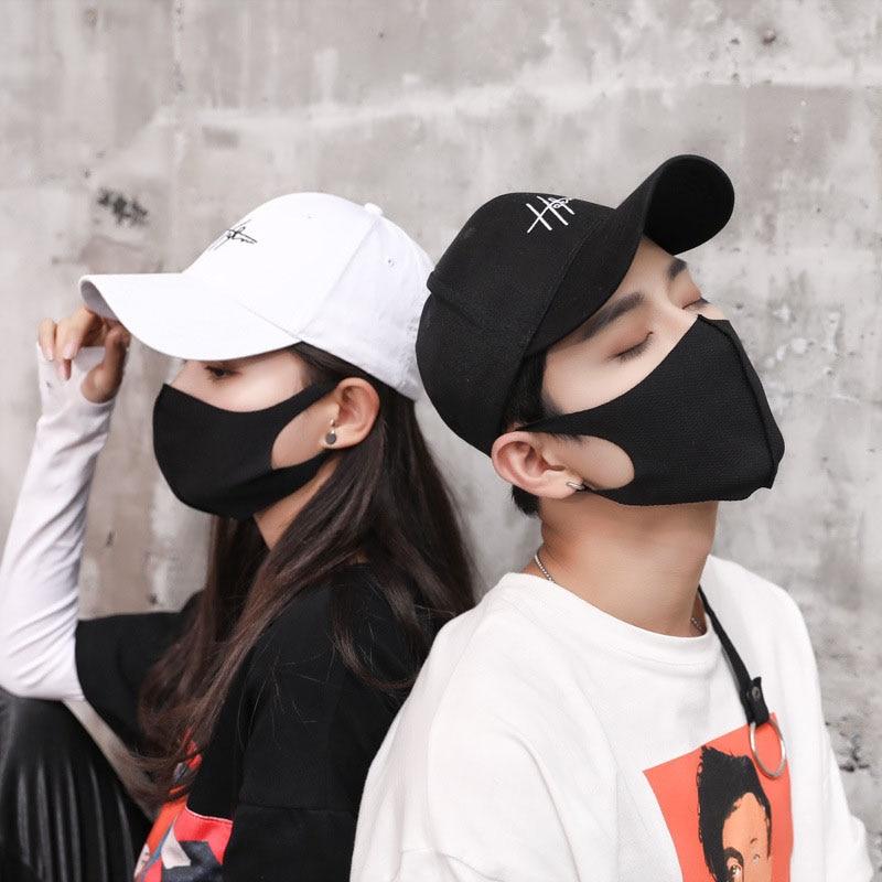 Masken Aufstrebend Unisex Staub-proof Baumwolle Masken Einstellbar Aktivkohle Filter Winddicht Gesicht Mund Maske Anti Pm2.5 Dunst Staub Masken C476 Attraktive Mode