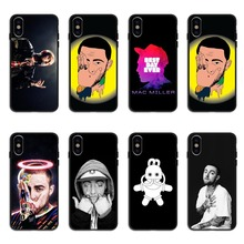 Rap singer Macs Mille Case silicone Soft black Phone Case For iPhone Case Back Covers For iPhone6 6S Plus 7 8 Plus X10 XR XS MAX macs for seniors for dummies®