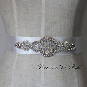 Image 1 - Free Shipping Crystal Rhinestone Dress Accessories Wedding Belts and Sashes Bridal Headpieces