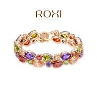 ROXI Bracelet Bracelets & Bangles 18K Gold Plated Bangle Fine Jewelry For Women Pulseras Sterling Silver Berloques De Prata 925