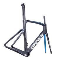 OG-EVKIN Super Light Bicycle Frameset DI2 Mechanical Cycling Carbon Road Bike Frame Carbon Road Frame 2018 48cm 50cm 52cm 54cm 1