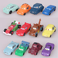 Nova Marca Disney Brinquedos Para Crianças com 2017 Carros De Plástico de Alta Qualidade Figuras de Ação 12 Pçs/set Mini Modelo Brinquedos Juguetes F122