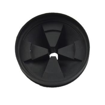Dozownik odpadów spożywczych części Anti-splash pierścień anti-korozję silikonowe splash pokrywa 87mm tanie i dobre opinie Odpadów żywności usuwający części