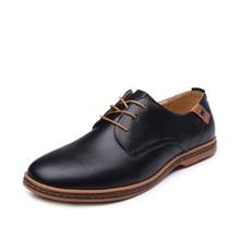 Большой Размеры 48 мужские мокасины Обувь PU Обувь кожаная Мужские туфли-оксфорды черный повседневная обувь для мужчин Мужская обувь