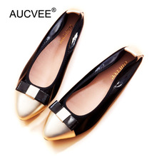 Women Flats Bowknot Design Loafers 2018 New Spring Ballerinas Women Lady Causal Genuine Leather Shoes Slip-on Ballet Shoes Woman 2018 new genuine leather flat shoes woman ballet flats loafers cowhide flexible spring casual shoes women flats women shoes k726
