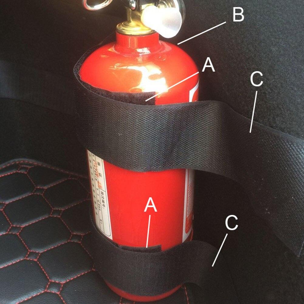 Vehemo Car Auto Trunk Organiser Fasten Bandage Mount Magic Tape Belt Tie Holder 59CM