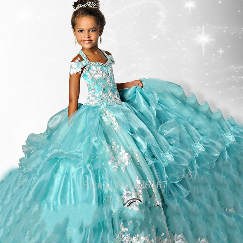 First communion dresses for girls Junior pageant dresses 2017 new ...