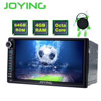 JOYING 2 Din Android 8.0 Car Stereo Autoradio 7'' 4GB RAM 64GB ROM GPS Octa Core Touch screen Cassette Radio carplay Video Out