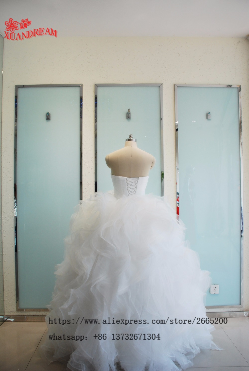 Aliexpress.com : Buy Simple bridal gown vestido novia abiti da sposa ...