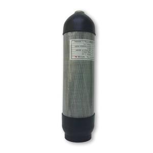 Image 5 - Ac9680 슈팅 대상 hpa 탄소 섬유 실린더 페인트 볼 에어건 프로텍터 고무 컵 pcp 에어 라이플 탱크 커버 슬리브 acecare
