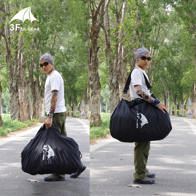 3F UL Rain Backpack Cover 45L-75L Cycling Outdoor Rucksack Bag Cover Waterproof 3