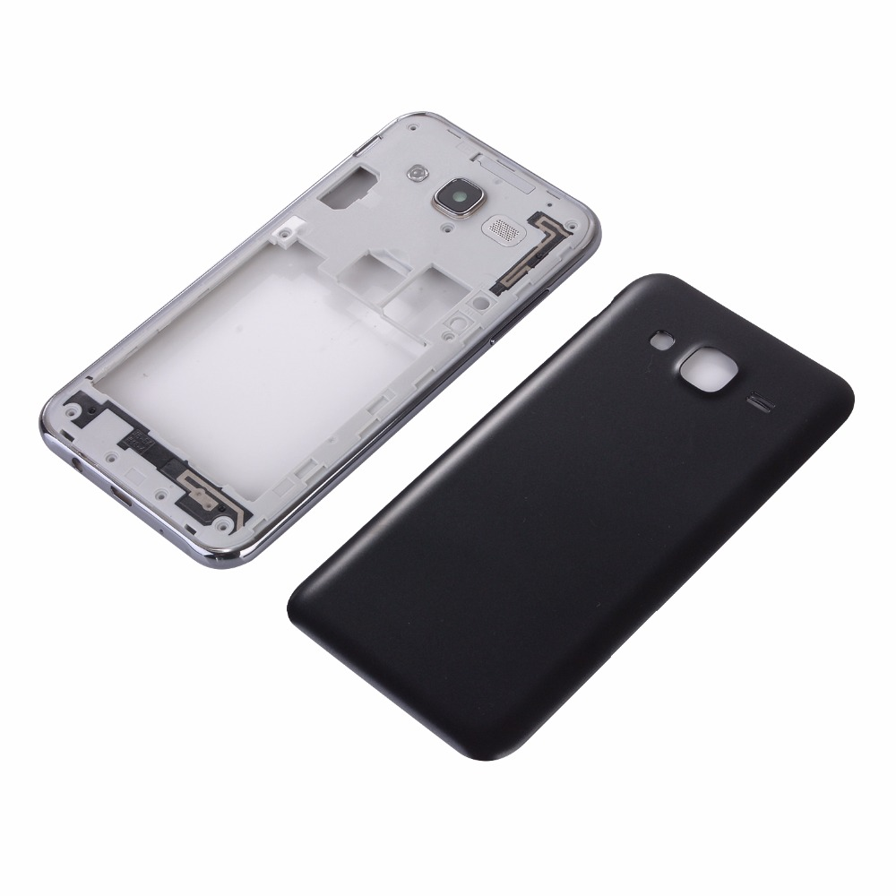For Samsung J7 J700 J700F 2015 Housing Middle Frame + Battery Cover Rear Back Door