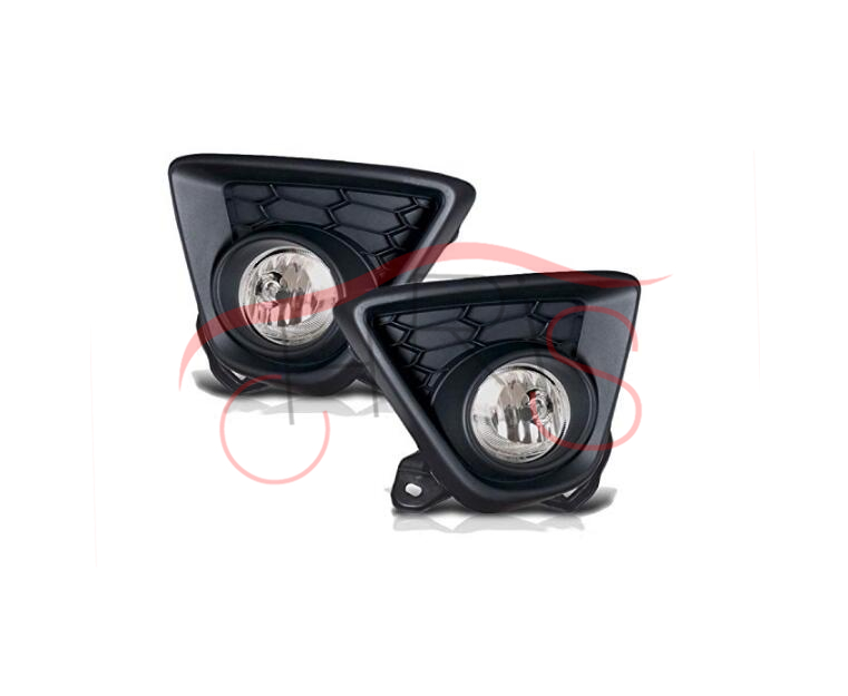 Clear Lens Gloss Black Fog Light Lamps With Wiring Kit For Mazda CX-5 2013-2015 fog lights lamp for renault symbol 2009 on clear lens pair set wiring kit fog light set free shipping