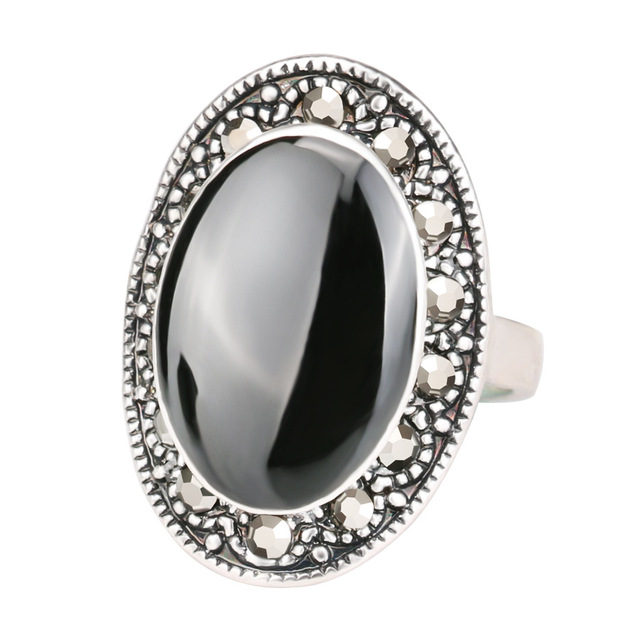 Buy hot selling vintage jewelry big black for Red black and green jewelry