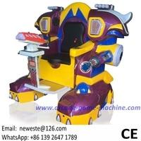 Playground Amusement Park Equipment Parent And Child Plaza Laser Combat Walking Robot Game Machines