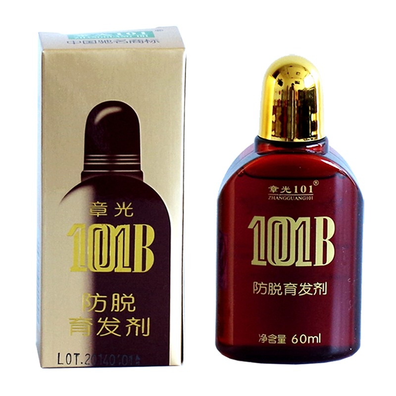 Zhangguang <font><b>101</b></font> B Formula <font><b>Hair</b></font> Tonic 60 ml powerful anti-<font><b>hair</b></font> loss Chinese herbal medicine therapy <font><b>Hair</b></font> loss Treatment Essence image