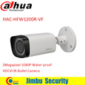 "DAHUA HDCVI Bullet Camera HAC-HFW1200R-VF 1/2.7"" 2Megapixel CMOS 1080P IR 30M IP67 2.7~12mm vari-focal lens  security camera"
