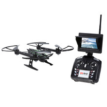 JXD Original 510G 2.4G 4CH 6-Axis Gyro 5.8G FPV RC Quadcopter RTF RC Drones Con 2MP Cámara con Modo de Una sola tecla de Retorno CF 3D-flip