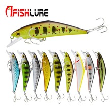 D Type Minnow Hard Bait Lure 85mm 15g  D-Contact Fishing Lures with Trebke Hooks Swimbait Artificial